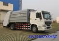 青岛中集环卫ZJV5160ZYSHBZ型16-18立方 压缩式垃圾车高清图 - 外观