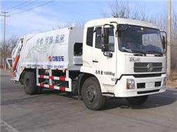 中通汽车ZTQ5160ZYSE1J38(东风天锦)压缩式垃圾车高清图 - 外观