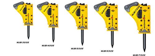 雄进WJB1350S/WJB1400S/WJB1500S/WJB1550S/WJB1750S三角型破碎锤高清图 - 外观
