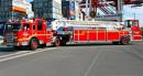 豪士科平台车:30米钢梯平台车高清图 - 外观