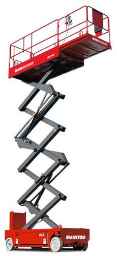 曼尼通120XEL剪叉式高空作业平台高清图 - 外观