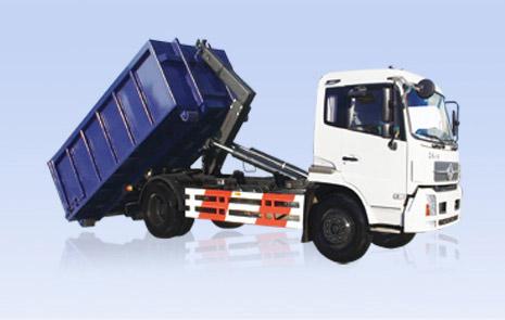 烟台海德CHD5168ZXX车厢可卸式垃圾车高清图 - 外观