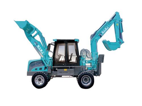 鲁牛SW-180-ZL轮式挖掘机高清图 - 外观