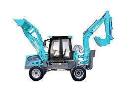 鲁牛SW-180-ZL轮式挖掘机