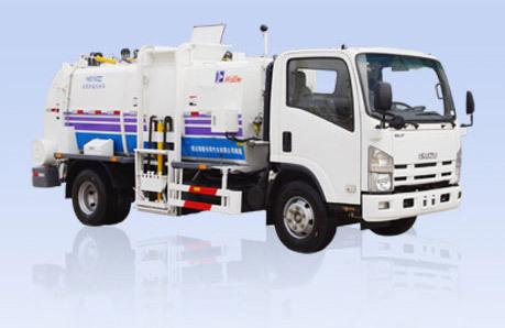 烟台海德CHD5100ZZZ自装卸式厨房垃圾车