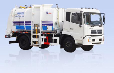 烟台海德CHD5163ZZZ自装卸式垃圾车