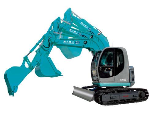 鲁牛SW90履带式挖掘机高清图 - 外观