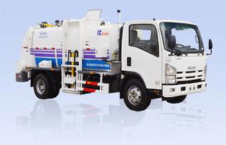 烟台海德CHD5162ZZZ自装卸式垃圾车