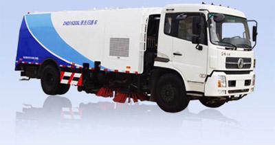 烟台海德CHD5163GSL清洗扫路车高清图 - 外观