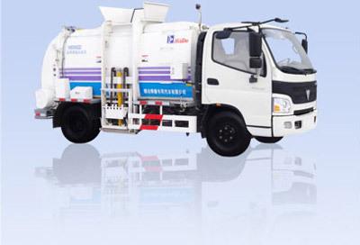 烟台海德CHD5080ZZZ自装卸式垃圾车