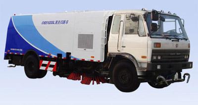 烟台海德CHD5166GSL清洗扫路车高清图 - 外观