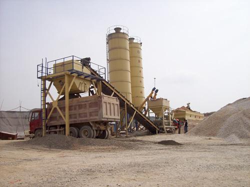 联丰机械DWBS500移动式稳定土拌合站
