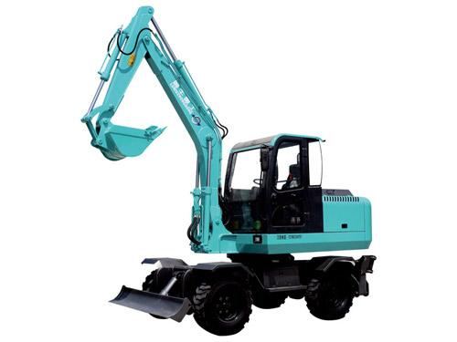 鲁牛SW70轮式挖掘机高清图 - 外观