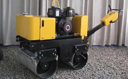 隆霄LXYL-43/LXYL-44C型小型液压转向压路机高清图 - 外观