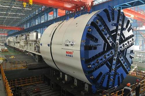 北方重工复合式盾构机高清图 - 外观