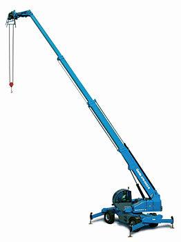 特雷克斯吉尼GTH™-5022R高延伸型旋转粗糙地面叉装机(限CE )