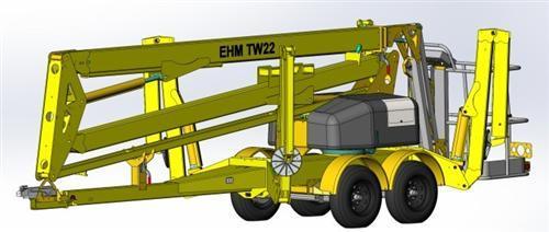 東邁重工TW22/TW37型拖車輪式