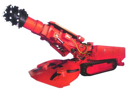 国际煤机EBZ120中型掘进机高清图 - 外观