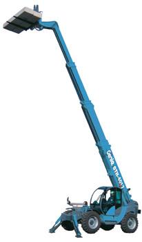 特雷克斯吉尼GTH™-4017高延伸型粗糙地面叉装机(限CE )