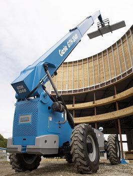 特雷克斯吉尼GTH™-1048高延伸型粗糙地面叉装机