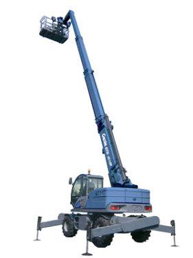 特雷克斯吉尼GTH™-4518R高延伸型旋转粗糙地面叉装机(限CE )
