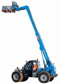 特雷克斯吉尼GTH™-3007紧凑型粗糙地面叉装机 (限CE )