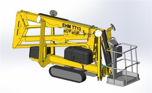 东迈重工TT-13/TT-19型拖车履带式系列高清图 - 外观