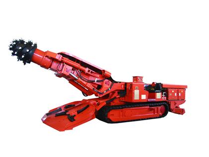 国际煤机EBZ160A中型掘进机高清图 - 外观