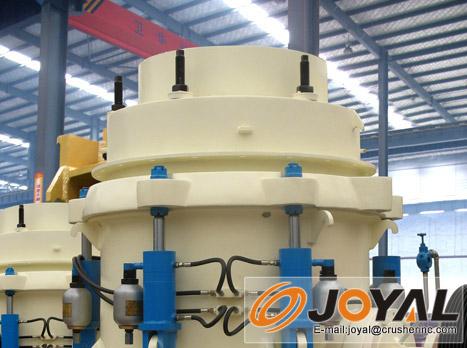 卓亚矿机HCC液压圆锥破碎机高清图 - 外观
