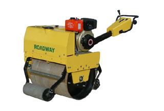 路得威RWYL24C小型高配置手推式单钢轮压路机