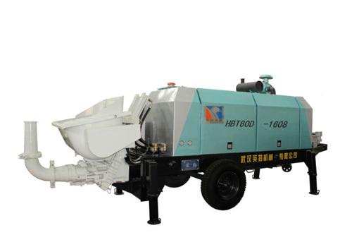 英特HBT80D-1608柴油机拖泵