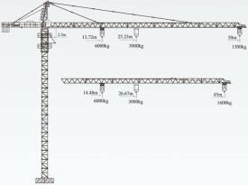 徐工QTZ63(5013Y-6)塔顶式塔机
