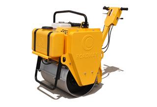 路得威RWYL22小型高配置手推式单钢轮压路机