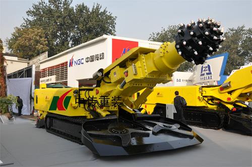 中传重装EBZ200标准型掘进机高清图 - 外观