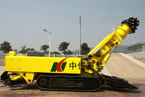中传重装EBZ160标准型掘进机高清图 - 外观