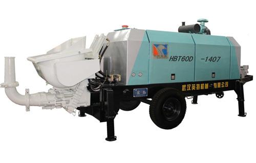 英特HBT60D-1407柴油机拖泵