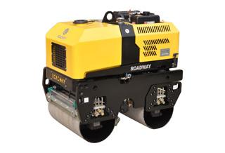 路得威RWYL301小型遥控式双钢轮压路机