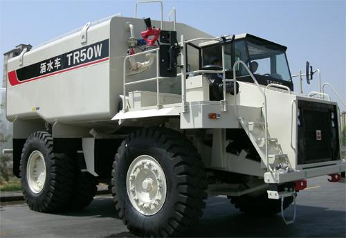 内蒙古北方重工TR50W矿用洒水车高清图 - 外观