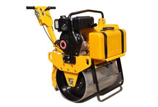 路得威RWYL21C小型高配置手推式单钢轮压路机