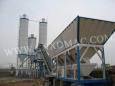 泉筑HZS60/HZS90/HZS120/HZS180/HZS200型模块式混凝土搅拌站高清图 - 外观