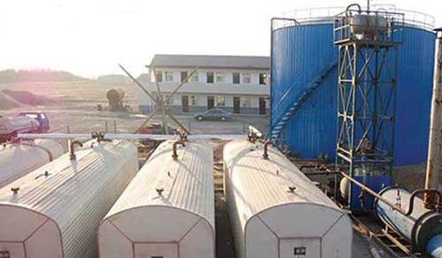 廣通DLG-80型集裝箱移動式導熱油式瀝青高溫罐
