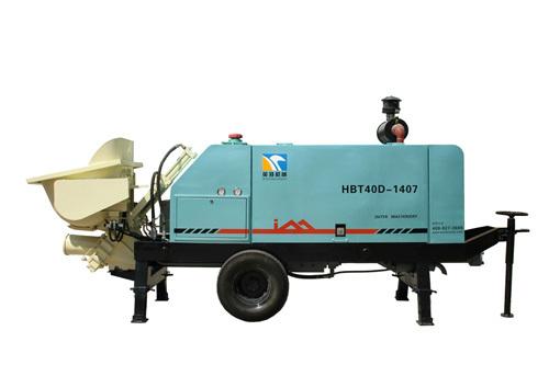 英特HBT40D-1407小型拖泵