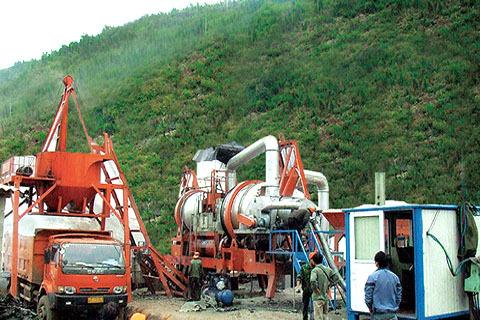 铁拓机械RQLB-20+10沥青混合料再生设备