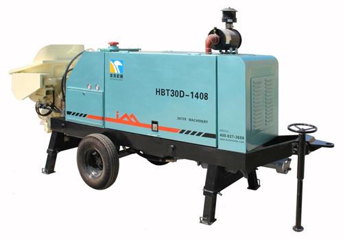 英特HBT30D-1408小型拖泵
