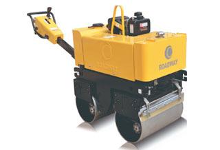路得威RWYL33C小型高配置手扶式双钢轮压路机
