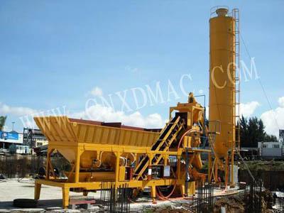 泉筑YHZS25/YHZS35/YHZS50/YHZS75型移动混凝土搅拌站
