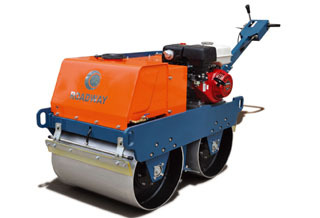 路得威RWYL31小型低配置手扶式双钢轮压路机
