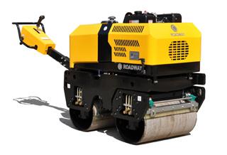 路得威RWYL35小型手扶式双钢轮压路机