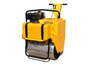 路得威RWYL22C小型高配置手推式单钢轮压路机