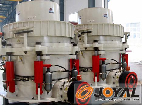 卓亚矿机HPC液压圆锥式破碎机高清图 - 外观